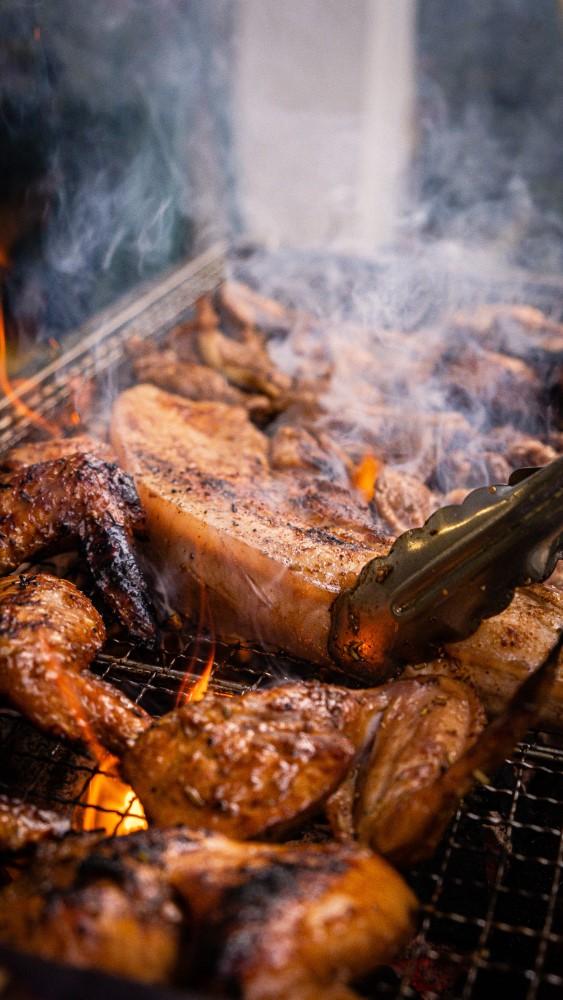 Hap-Inn BBQ vlees